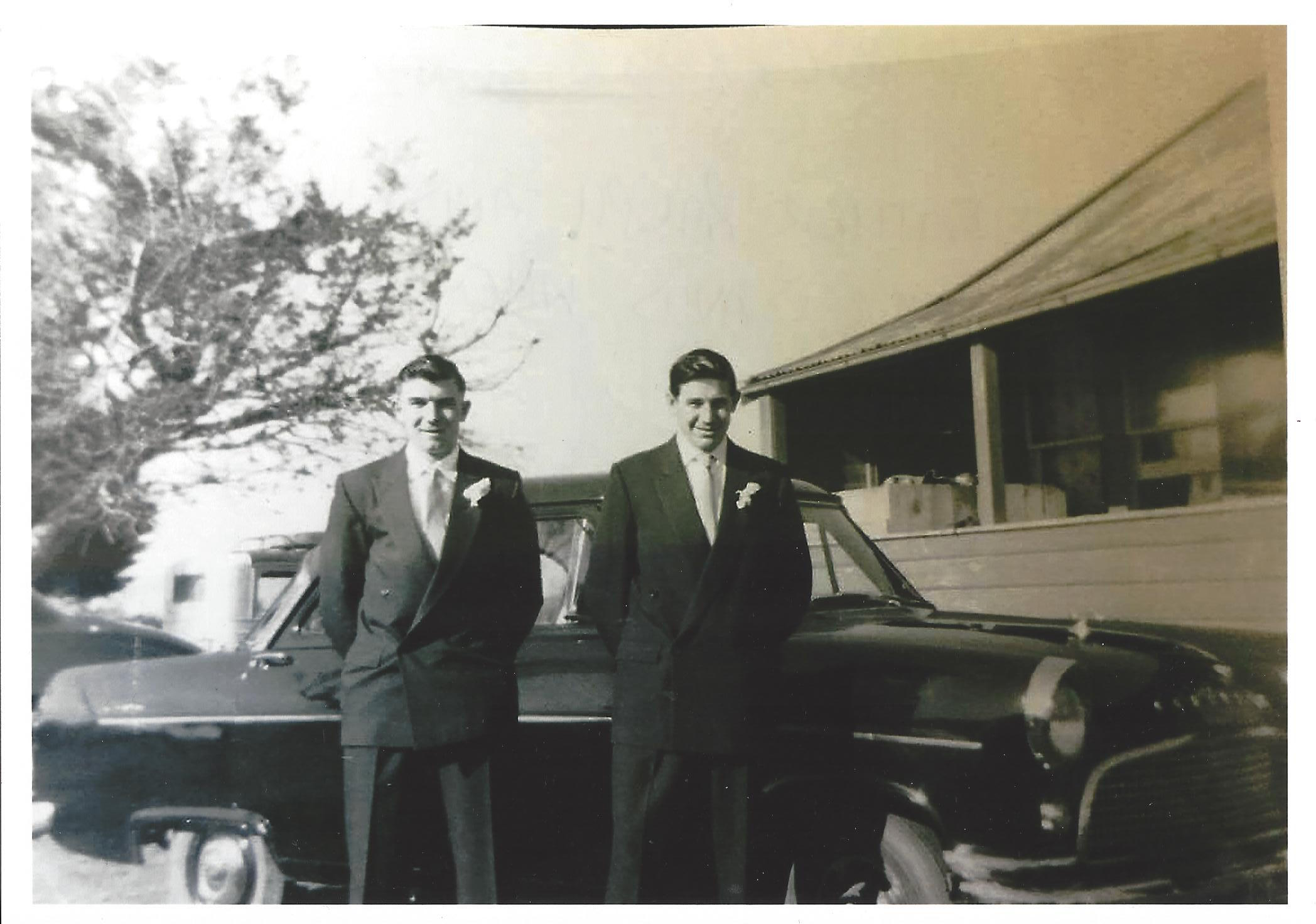 My Father Ralph and his brother David when he lived in NZ